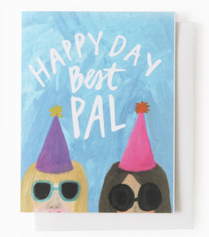 Happy Birthday Balloon Confetti Card