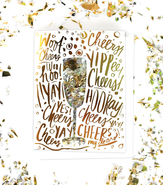 Celebration Confetti Card