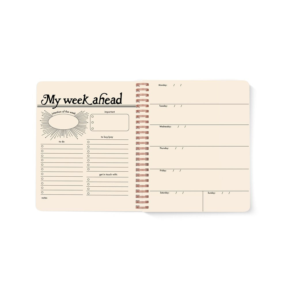 Seeing Eye Open-Dated Planner