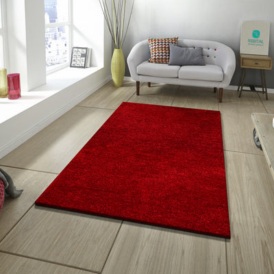 Manhattan – Premium - Hochflor - Shaggy - 201 - Red
