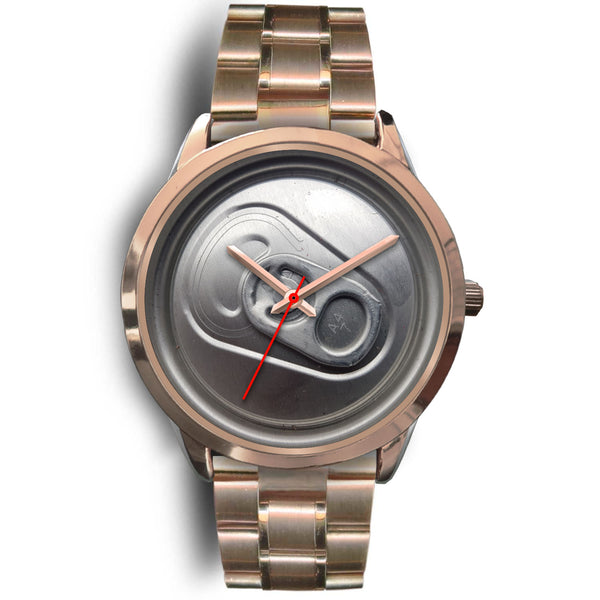 Beer time watch rose gold