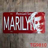30*15 CM Marilyn Monroe Icon Tin License Plate