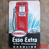 Humble Esso Extra Bar Pub Home Vintage Retro Poster Cafe Art Decor Metal Tin Sign 20x30CM