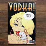 Real cool VODKA metal tin sign for bar pub wall retro decoration