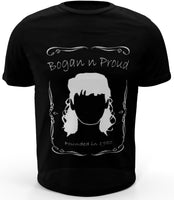 Bogan n Proud No Mo Black T-Shirt