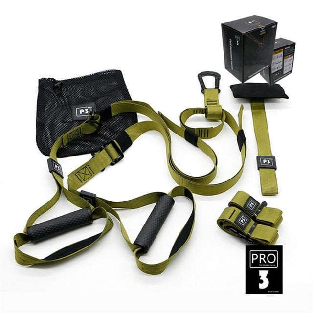 Gym Resistance Bands Crossfit Strength Hanging Training Straps Home Fitness Equipment Exerciser Workout Sports Belt P1/P2/P3