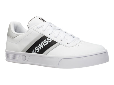 K06147-136 | Men's Court Lite Spellout | White/Black/Vapor Blue