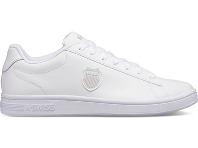 K06599-101 | Men's Court Shield | White/White