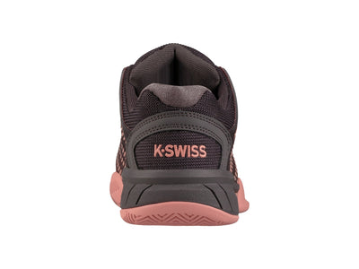 K93377-1265 | Women's Hypercourt Express | Plum Kitten/Coral Almond/White