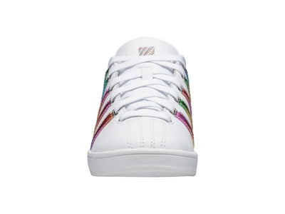 K93629-184 | Womens Court Pro II CMF | White/Rainbow/Silver