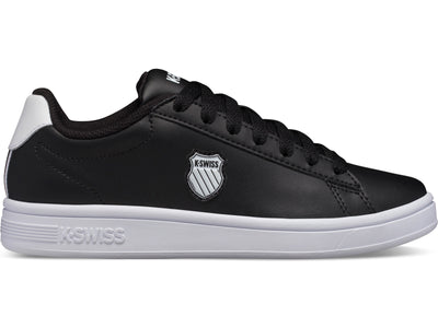 K96599-002 | Women's Court Shield | Black/White