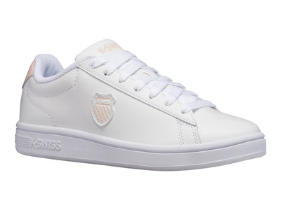 K96599-104 | Women's Court Shield | White/Pearl