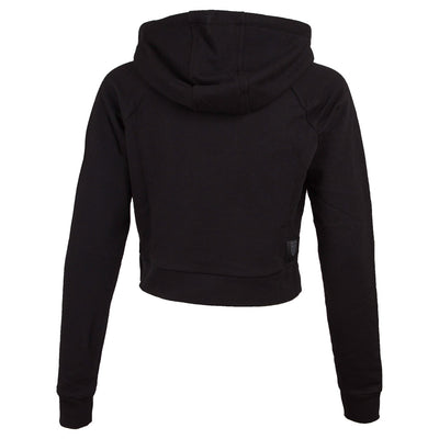 KSW191TL01 | Women's Eon Cropped Hood | Black