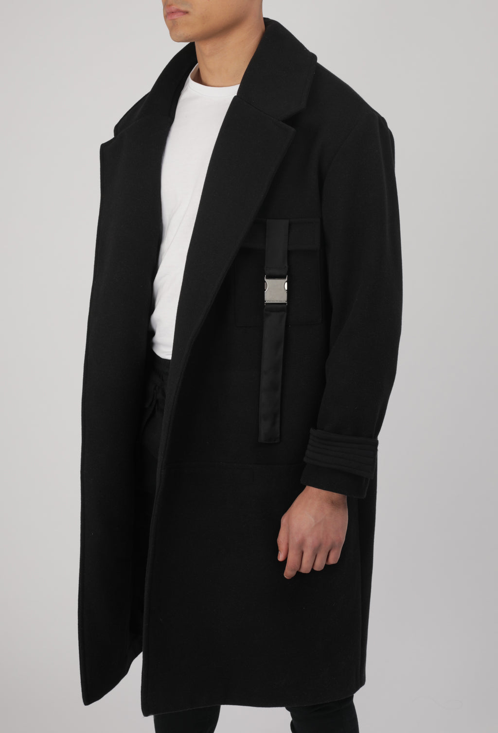 Manteau Midnight Noir