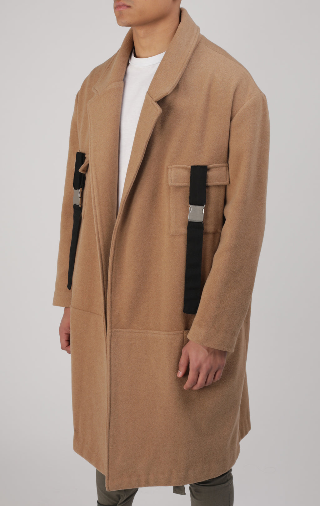 Manteau Midnight Camel