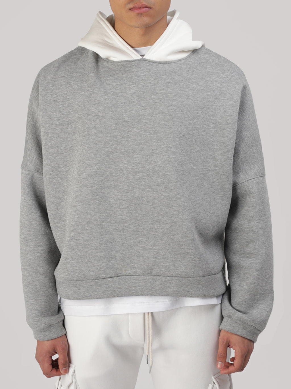 Sweat Capuche Every Day Gris