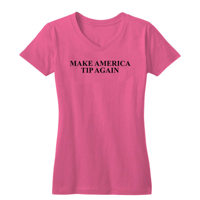 Make America Tip Again Women's V