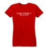 Make America Tip Again Women's Tee