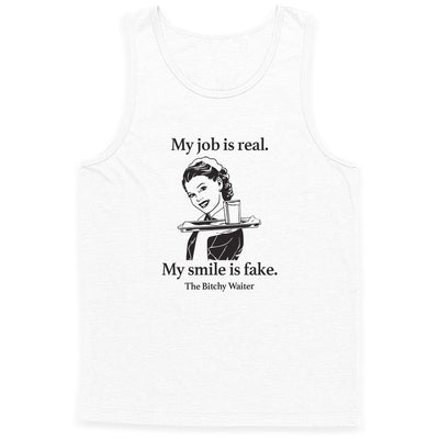 My Job Is Real Tank Top