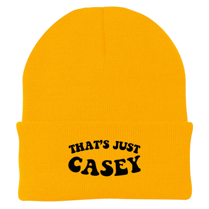 That's Just Casey Beanie