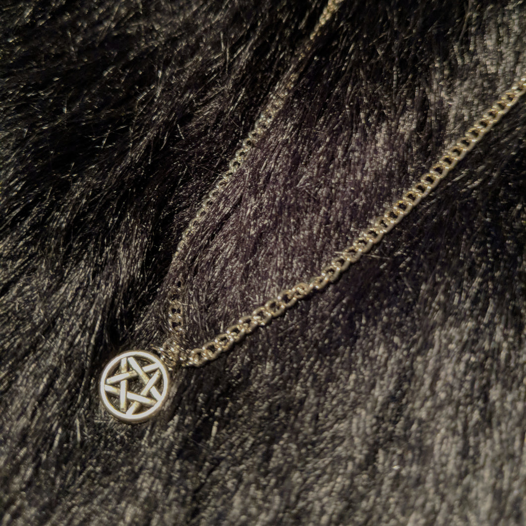 Mini Pentagram Necklace