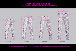 FLAMANT ROSE - LEGGING ENFANT ANICKO