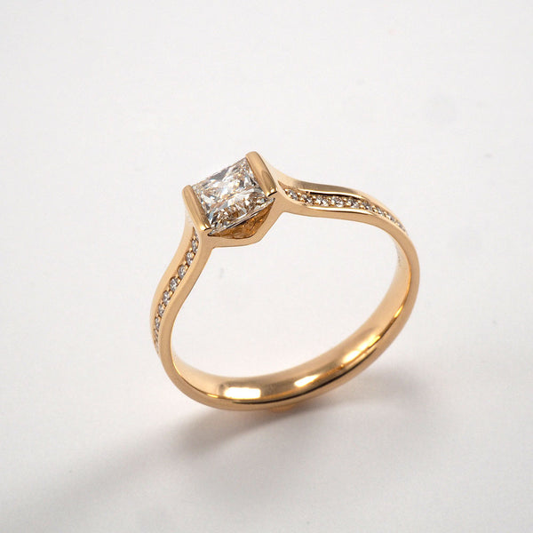 Albany Solitaire - 0.62ct
