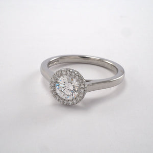Infinity Halo Cluster - 0.95ct