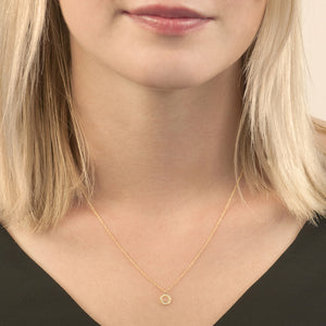 London Road - Yellow Gold Meridian Pendant