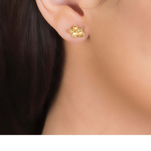 London Road - Falling Leaf Stud Earrings