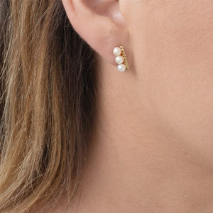 London Road - Pearl Bar Earrings