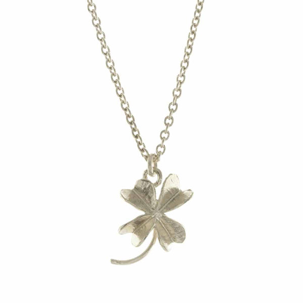 Alex Monroe Baby Lucky Clover Necklace