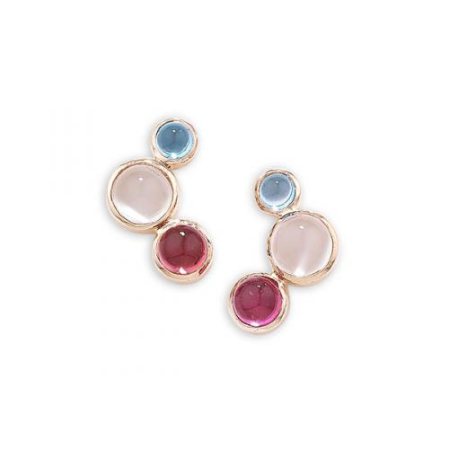 Bubble Multi Gem Earring