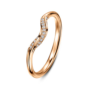 Andrew Geoghegan  -  Cannelé Twist Wedding Band