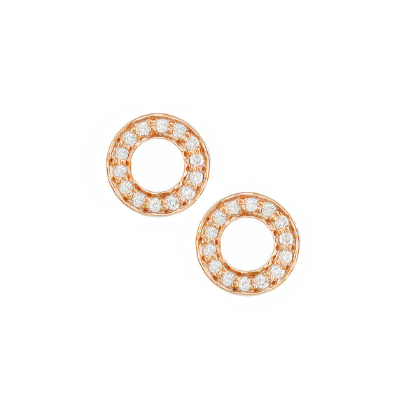 London Road - Rose Meridian Stud Earrings