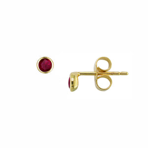 London Road - Ruby Studs