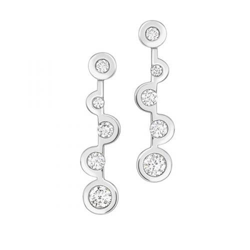 Echo Drop Diamonds Earrings