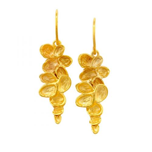 London Road - Falling Leaves Drop Earrings