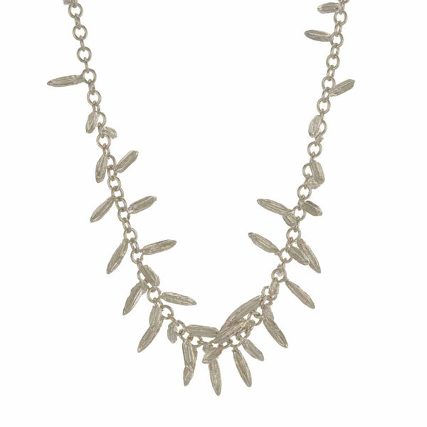 Alex Monroe Fennel 'Kissing Seed' Necklace