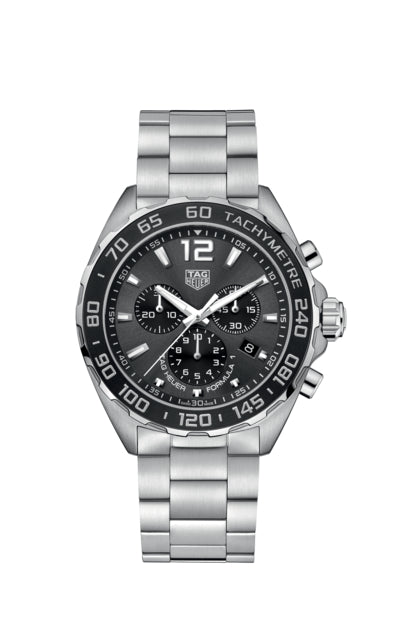 Tag Heuer - F1 Chonograph on Stainless Steel Bracelet