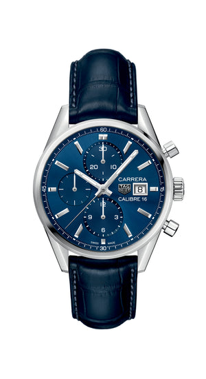 Tag Heuer - Carrera Chronograph on Leather Strap
