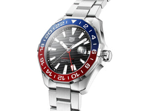 Tag Heuer - Aquaracer GMT on Steel Bracelet