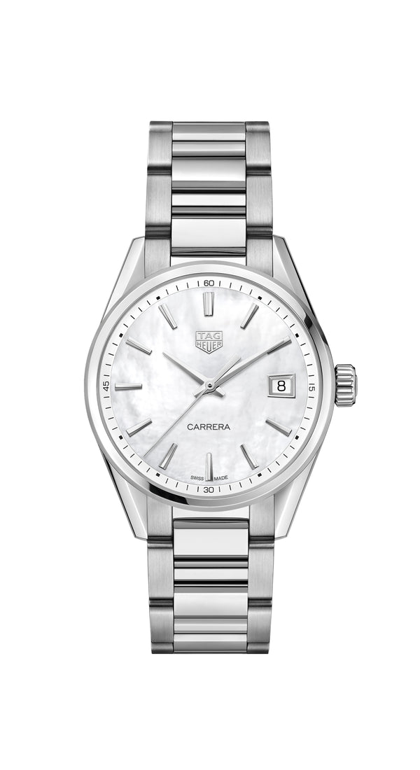 Tag Heuer - Carrera Quartz on Steel Bracelet