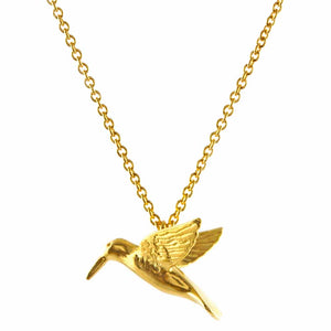 Alex Monroe - Hummingbird Necklace