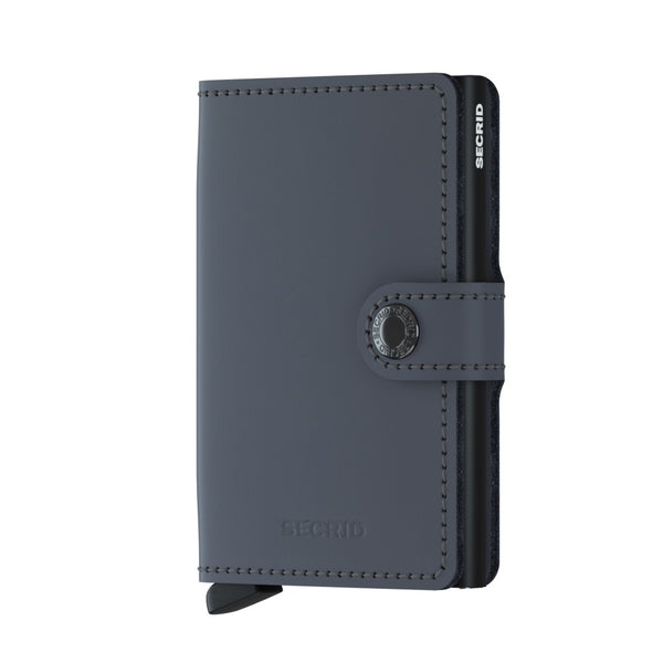 Secrid - Matte Grey-Black Miniwallet