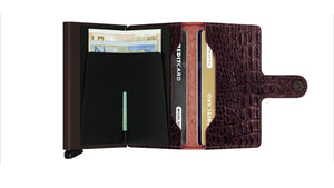 Secrid - Nile-Brown Miniwallet