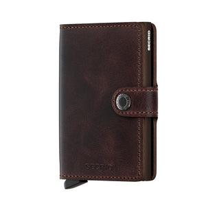 Secrid - Vintage Chocolate Miniwallet