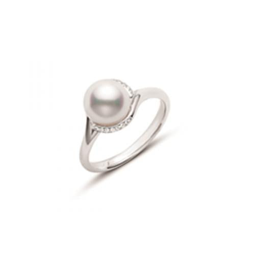 Mikimoto  Twist Ring