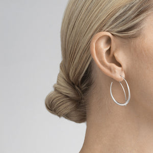 Offspring Double Loop Earrings