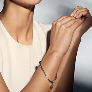 Georg Jensen - Offspring Bangle with charm